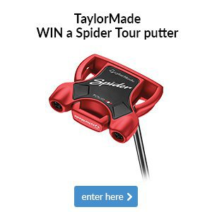 Win a TaylorMade Spider Tour putter